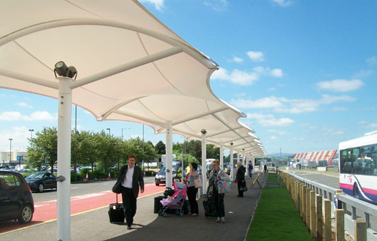 Tensile Walkway Structure Manufacturer